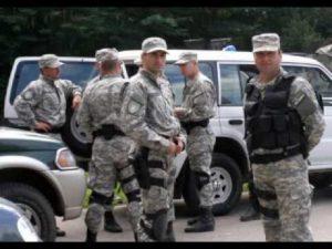 groepe gewapende polisie