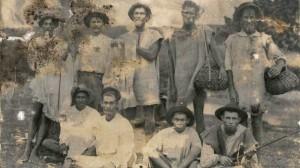 Blanke slawe op die suikerplantasies van Barbados
