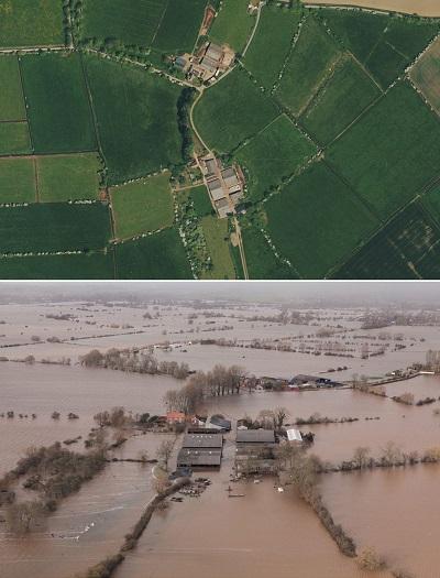 Somerset - voor en na die vloede
