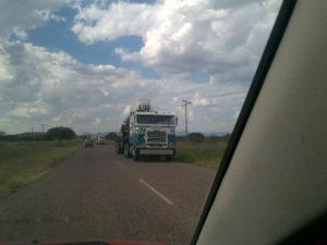 VN Wapentuig vanuit Zimbabwe na SA - foto Mariska