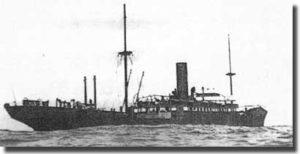 Duitse oorlogskip Wolf, 1880